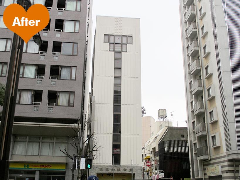ビル外装改修工事 -横浜市鶴見区