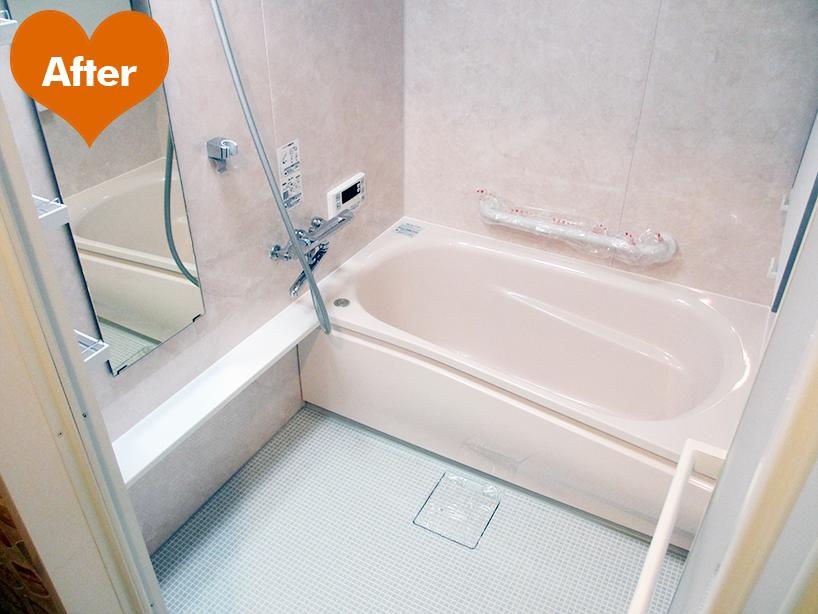 お風呂リフォーム・給湯器交換工事 浴室乾燥で暖か幸せ -川崎市川崎区