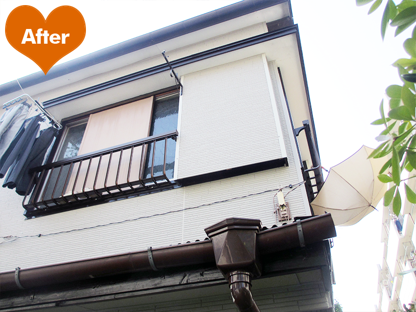 アパートの外装フル改修工事 見た目すっきりに -川崎市幸区
