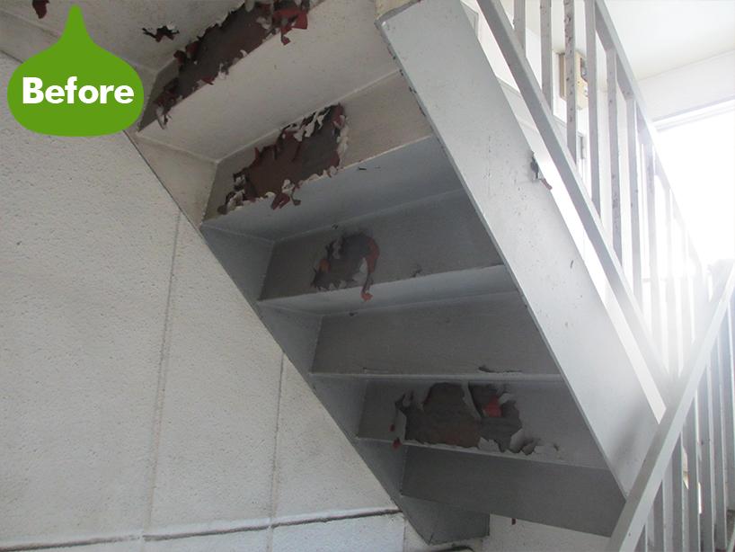集合住宅外壁塗装工事 適切な塗膜で防水ばっちり -横浜市神奈川区