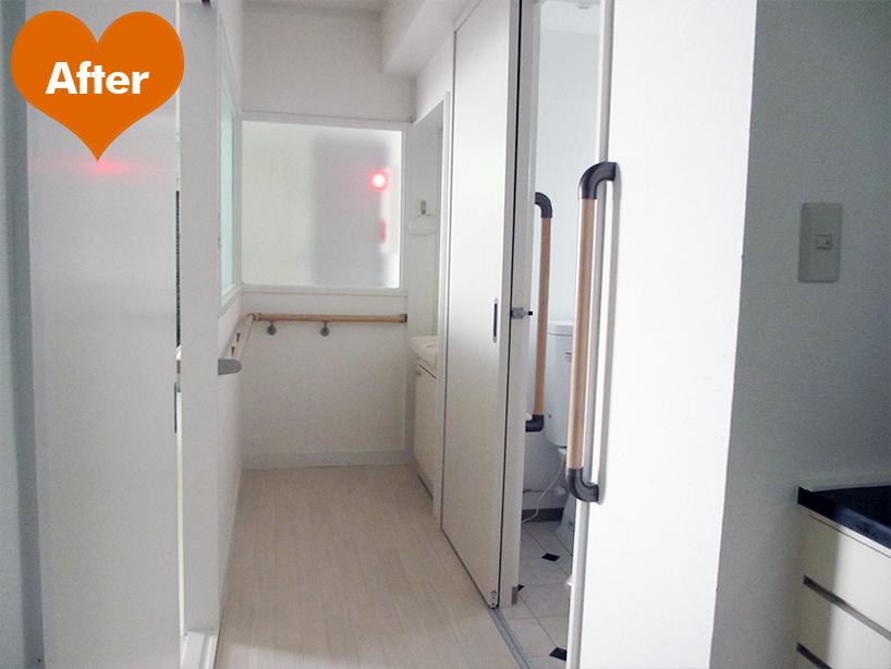 介護施設の内装リフォーム 安心安全の暮らし -横須賀市大津町