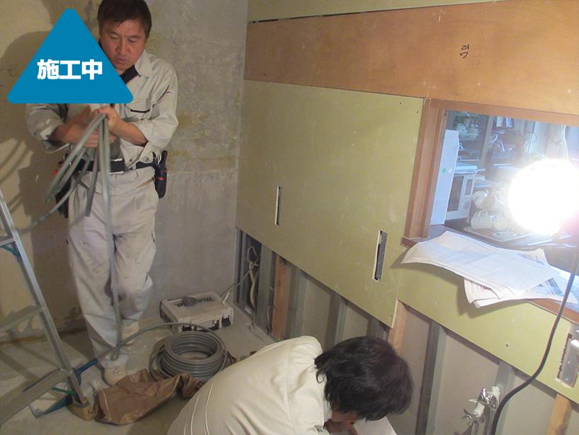 システムキッチンの交換工事 水周りの使い勝手向上 -川崎市中原区